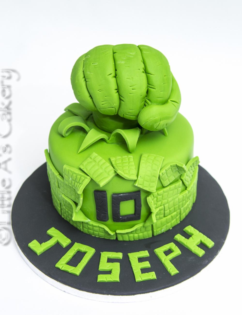 hulk-hand-smash-cake-dereham-norfolk