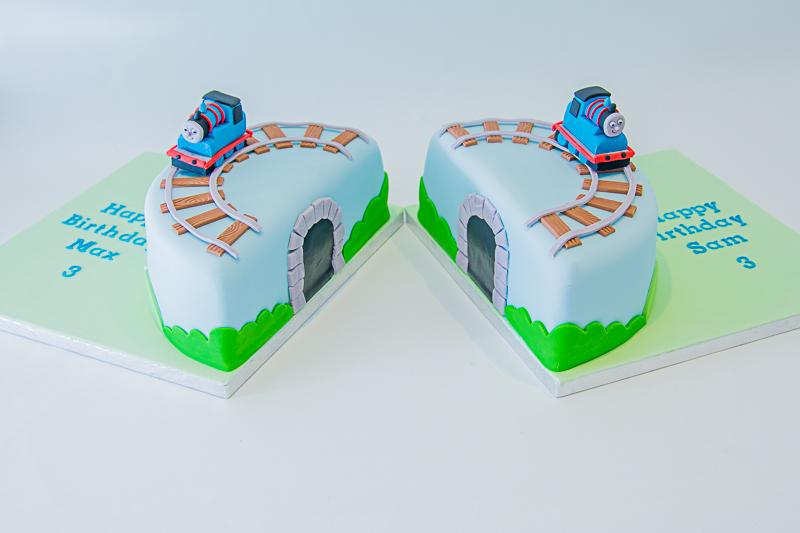 Twins Thomas Birthday Cake