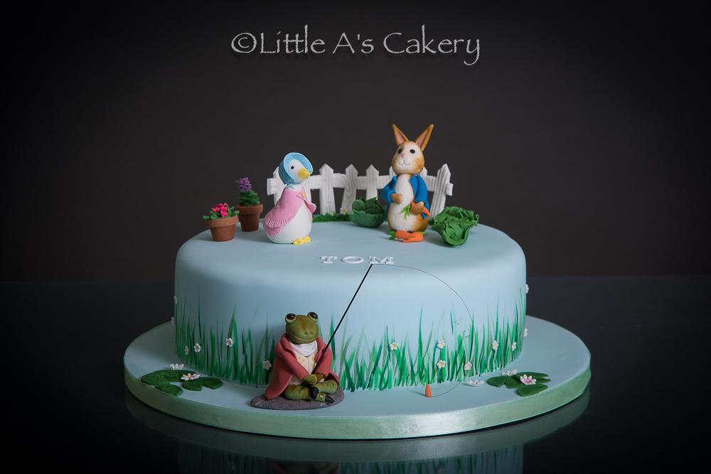 peter rabbit cake carrot