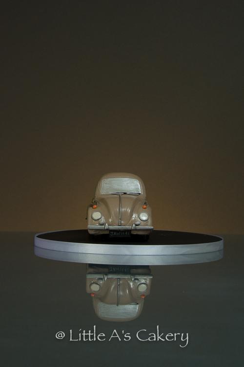 3D vw beetle cake
