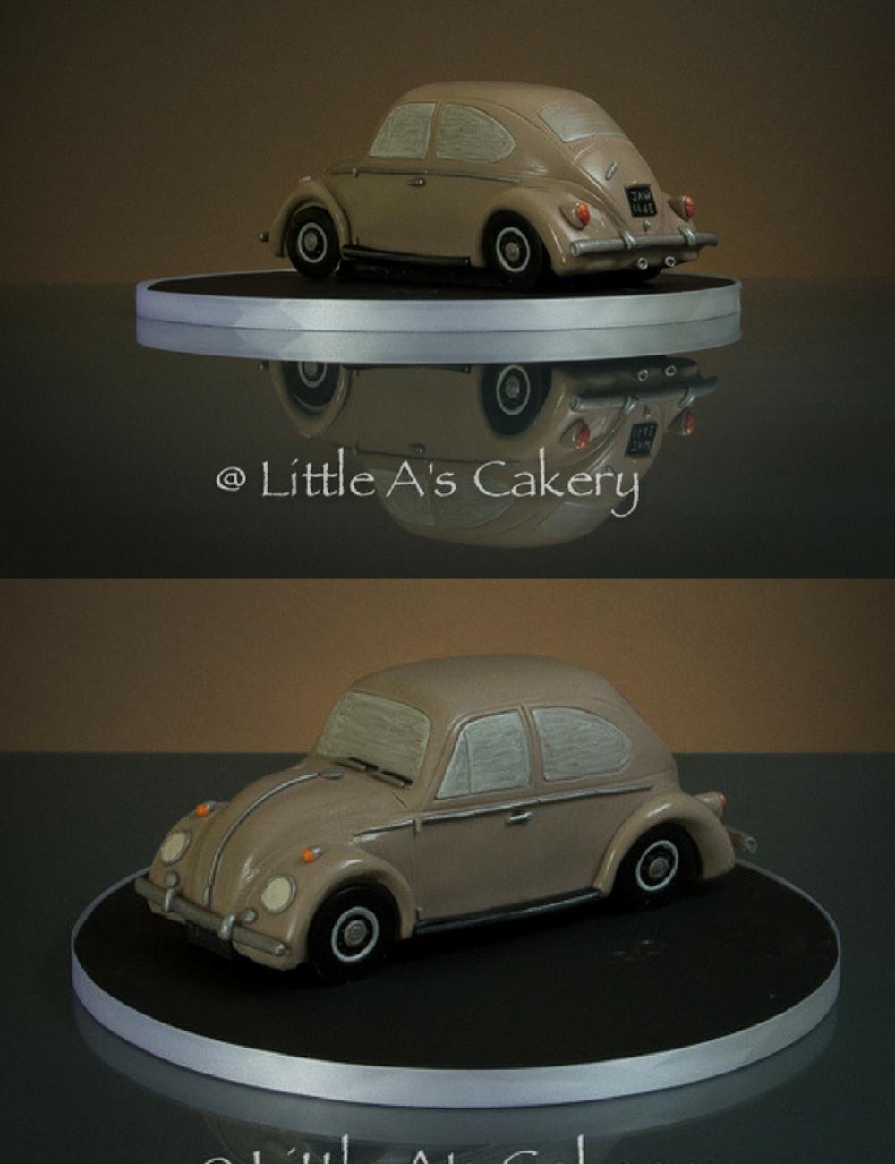 vw_beetle_car_cake_little_A's_Cakery_Noorfolk
