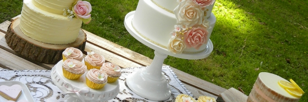 Shabby Chic Wedding Cake blog header 2