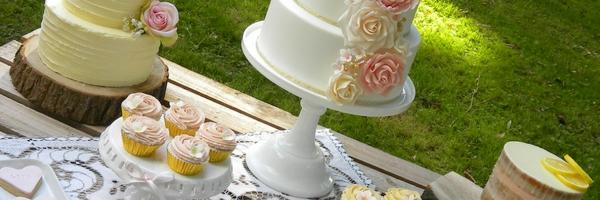 Shabby Chic Wedding Cake blog header 2