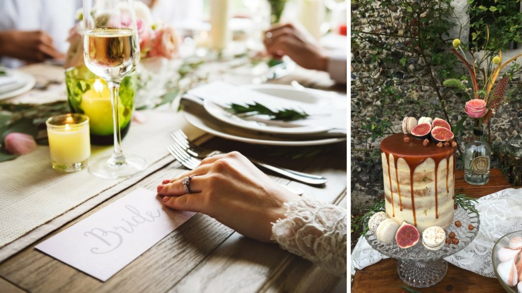 planning the perfect autumn wedding cake